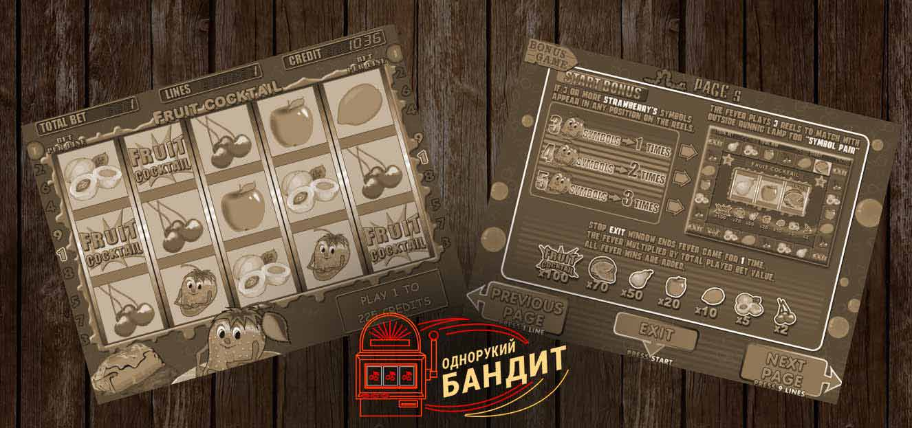 Однорукие бандиты - игровые автоматы с рычагом бесплатно